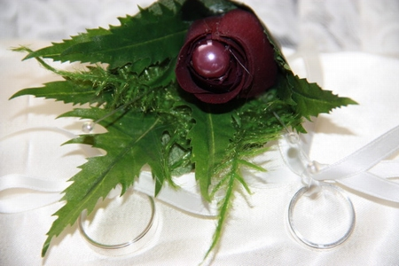 Corsage burgundy