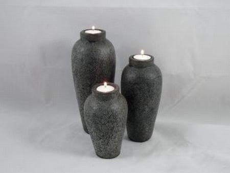 Waxh. stone grey 26 cm