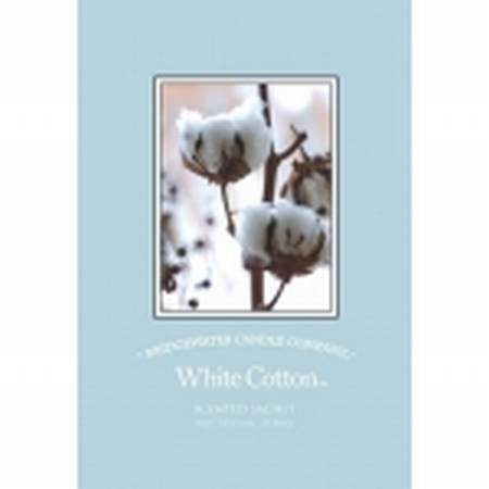 Sachet White Cotton