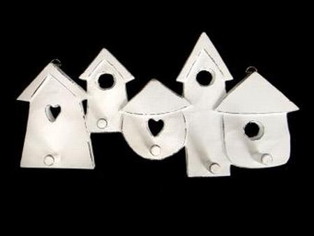 Kapstok huisjes