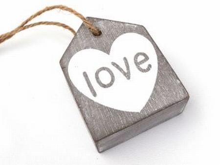 Hanger Huisje Taup Love