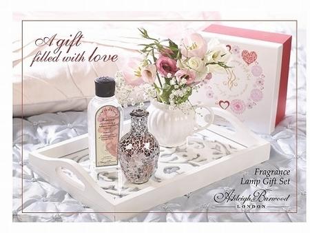 Rose Quartz Giftset met 250ml Romance Oil Limeted Edition