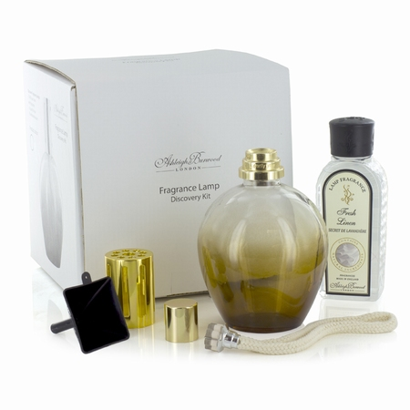 Amber Discovery Kit + 180ml Fresh Linen