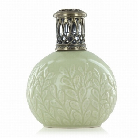 Ceramic Olive Branch Fragrance Lamp