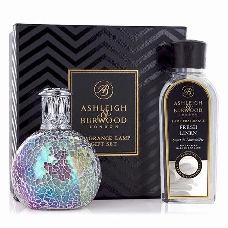 Fairy Ball Fragrance Lamp + 250ml Fresh Linen Oil