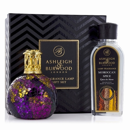 Magenta Crush Fragrance Lamp + 250ml Moroccan Spice