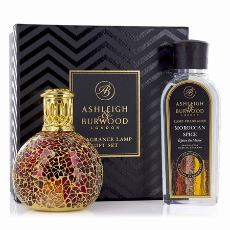 Tahitian Sunset Fragrance Lamp + 250ml Moroccan Spice Oil