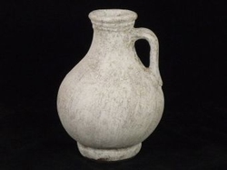 Pot taup/white 26 cm