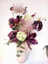 Vaas met bloemen Voorbeeld