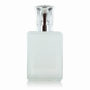 Obsidian Two Tone White Clear Fragrance Lamp