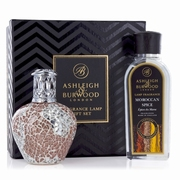 Apricot Shimmer Fragrance Lamp +250ml Moroccan Spice Oil