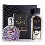 Pearlecense Fragrance Lamp + 250ml Fresh Linen Oil