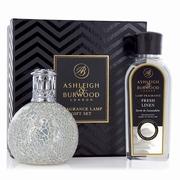 The Pearl Fragrance lamp + 250ml Fresh Linen Oil